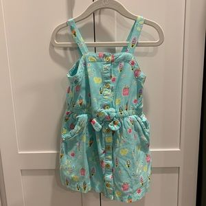 Genuine Kids ice cream popcorn treats dress